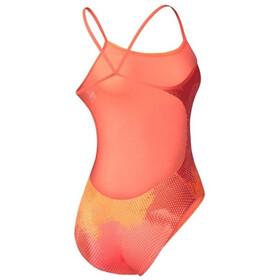 Nike Swim Haze Lingerie Crossback Tank  - Maillot de bain Femme - orange/rouge